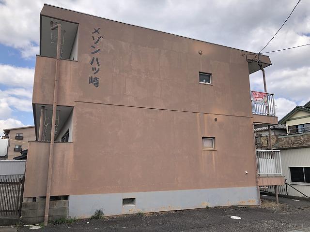 工事前のアパート