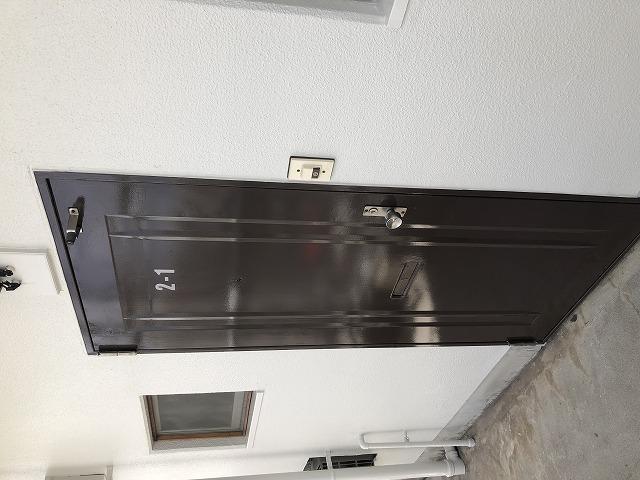 塗装後玄関ドア